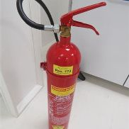 Fire extinguisher GLORIA with 5 kg carbon dioxide