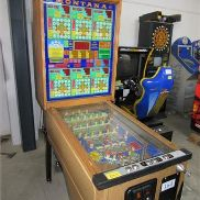 Automatic game machine Flipper SLIN MONTANA, Serial number: 21708