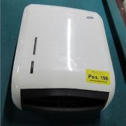 Paper hand towel dispenser, W: approx. 300 mm, H: approx. 440 mm, T: approx. 140 mm