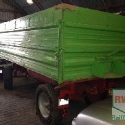 Reisch 7,5t 3-side tipper trailer