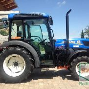 New Holland T4. 75V wine-growing tractor