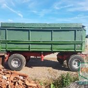 Welger 2x Welger 16to 3 side tipper Wagon