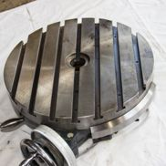 Indexing table, pre-owned, directly sharing, 55 kg Diameter: 380 mm, slot width: 12 mm / 20 mm