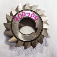 Angle milling cutters, A 63 x 28 x 80 °, bore: 22 mm