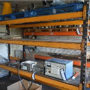 Two Single-Bay Multi-Tier Pallet Racks (no contents) (note - this lot is situated at WHITLEY BRIDGE,