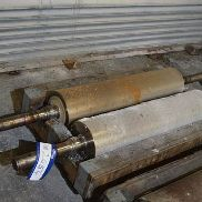 One Pair 1000 x 250mm K-Type Refurbished Fluted Rolls (12.5 flute) (note - this lot is situated at