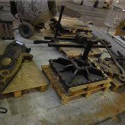 George Clymer Columbian Type Cast Iron Platen Press (dismantled – unknown if complete)