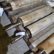 One Pair 1000 x 250mm J-Type Fluted Rolls (16 flute) (note - this lot is situated at WHITLEY BRIDGE,