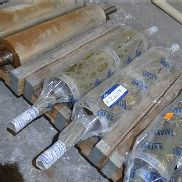 One Pair Satake 1000 x 250mm Refurbished Rolls (26 flute) (note - this lot is situated at WHITLEY