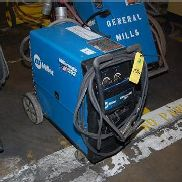 Miller Millermatic 252 Welder, 4-Wheel Base