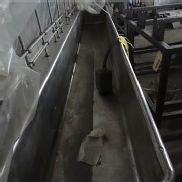 Stainless Wash Tub used as COP Tank no Pump, LOCATED IN OTTAWA, OH