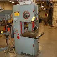 DoAll Vertical Band Saw, Model #2013V, SN 439-84504, Includes Dayton Vacuum Cleaner