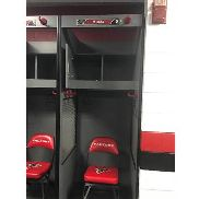 Matt Ryan's Locker, includes Name Tag as photo'd. Does NOT include Chair. Removed from Falcons