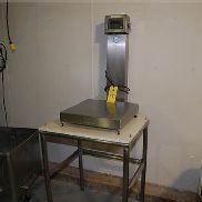 Weigh-Tronix Model #QC-3265 Bench Scale, 20x20/200 lbs. Capacity, SN 019828, Mounted on Stand