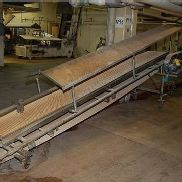 Conveyor - Motorized Belt Conveyor, 12 ft. Length, 230/460 Volt Motor, 4-Wheel Base
