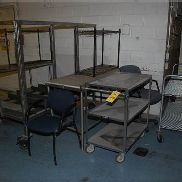 Assorted Tables/Carts, Various Size