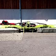 CLAAS mower combination Disco 8550 C + Disco 3050 FC, thrust driving or front-rear operation possible