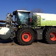 CLAAS Xerion 3800 Trac VC, manure build SGT