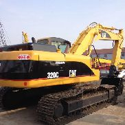 CATERPILLAR 320C tracked excavator