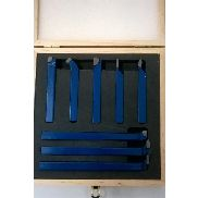 Carbide tipped lathe cutting tool set of 8 pieces