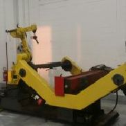 Island Fanuc robots for welding wire mig-mag