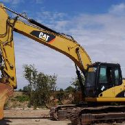 Hydraulic excavators used