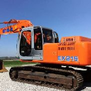 Crawler Excavators FIAT HITACHI EX215 used