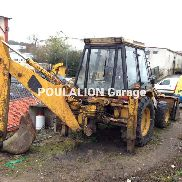 Jcb 3 CX Backhoe Loader Rigid Backhoe Loader