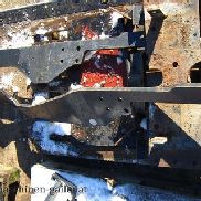 Other rear axle and mounting plate snowplow