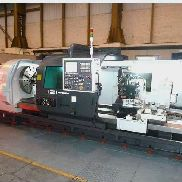 Lathe Hwacheon Mega 100 Heavy duty CNC lathe semi x 6000
