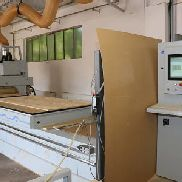 WEEKE Optimat BHP 200/5 Nesting CNC Machining Center with MATRIX-Table