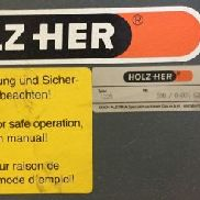 HOLZER 1225 Panel Saw