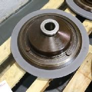 Lot of 5 Grinding Wheels with Support Plates