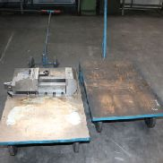 Machine Vice and 2 Platform Trolleys