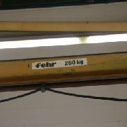 DEMAG / FEHR Wall-Mounted Slewing Crane