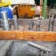 Lot of various tools for lathe