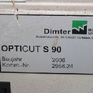 DIMTER OPTICUT S 90 Optimierungskappsäge