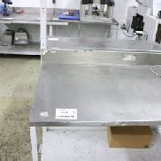 Stainless Steel Workbenches without Contents