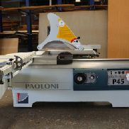 PAOLONI P 45 Sliding Table Saw Machine
