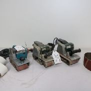 MAKITA / METABO Lot of Belt Sanders