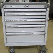 LISTA Mobile Drawer Cabinet with Contents