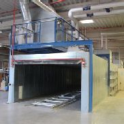 RIPPERT Paint Booth/ Surface Spraying Machine