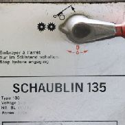 SCHAUBLIN 135 Center Lathe