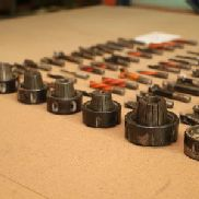 Lot of Milling and Drilling Tools