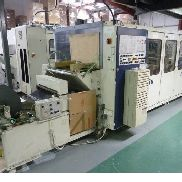 350mm X 500mm di larghezza Illig RV53, Reel alimenta Vacuum fomer con Steel Rule Punch Station. Stacker 1998.