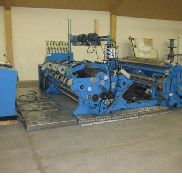2000mm Fuchs Slitter Rewinder, unwind max 1000mm, rewind max 600mm. Maximum speed 600m/min. 1986