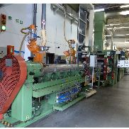 Illig RDM 70KB complete inline thermoforming with 90mm x900mm wide Battenfeld/ Kuhne extrusion set up, 1993/9