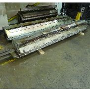 2650mm wide Cloeren Epoch cast film die for up to 1mm thick sheet. Internal decals 1995.