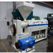 55mm Fare single screw extruder 30D electrically heated fan cooled barrel 1992.