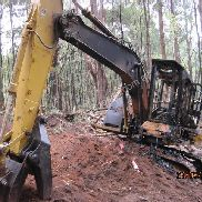 Cat 320 CFM (Forestry Machine) Wrecking